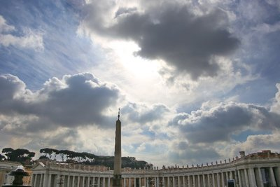 The Heavens - from St Peter's Square, Vatican City