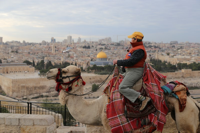Jerusalem from a Camel