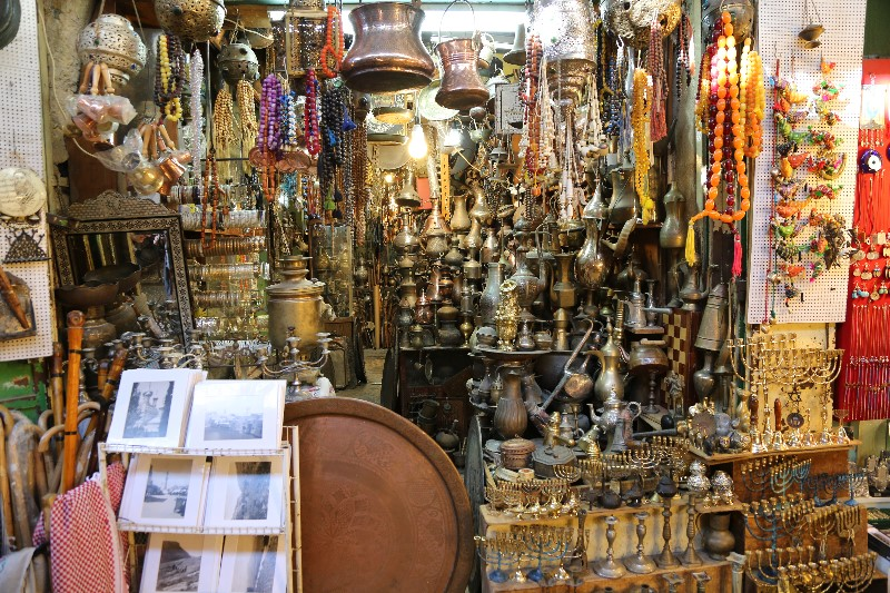 Old Jerusalem Market Place Shop