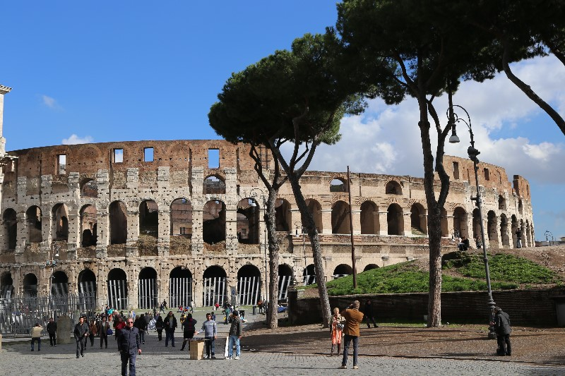 View of the Coliseum