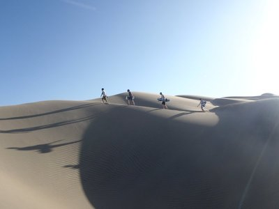 Huacachina Version of Abbey Road