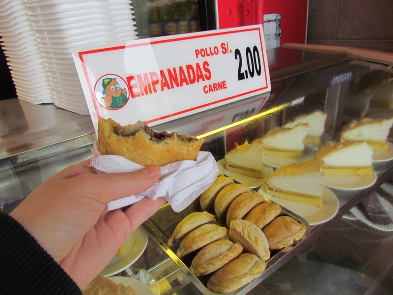 First Empanadas of the trip