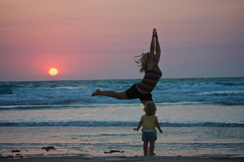 Dancing on Cable Beach