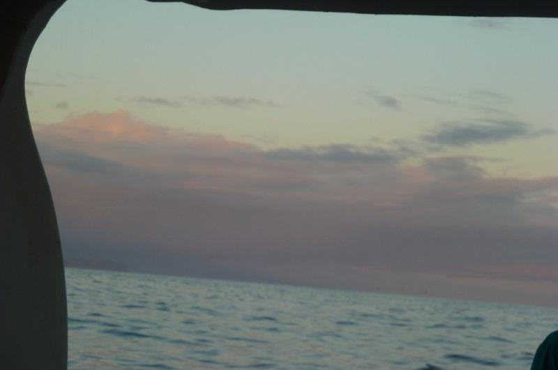 Approaching Isabela