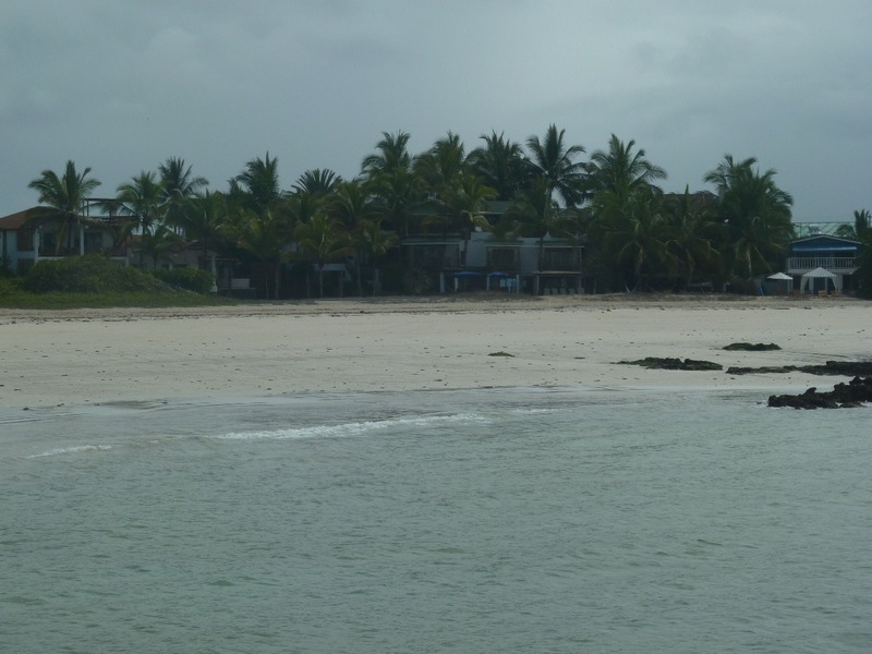 Beach at Puerto Villamil