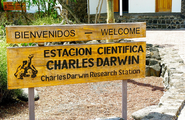 Entrance to the Charles Darwin Research Centre