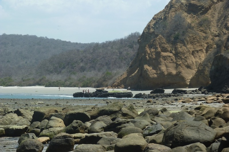 Scenery at Los Frailes Beach