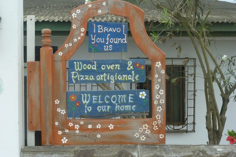 A taste or pizza - Puerto Lopez