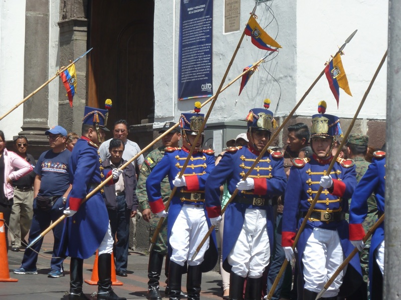 Changing of the Guards Quito