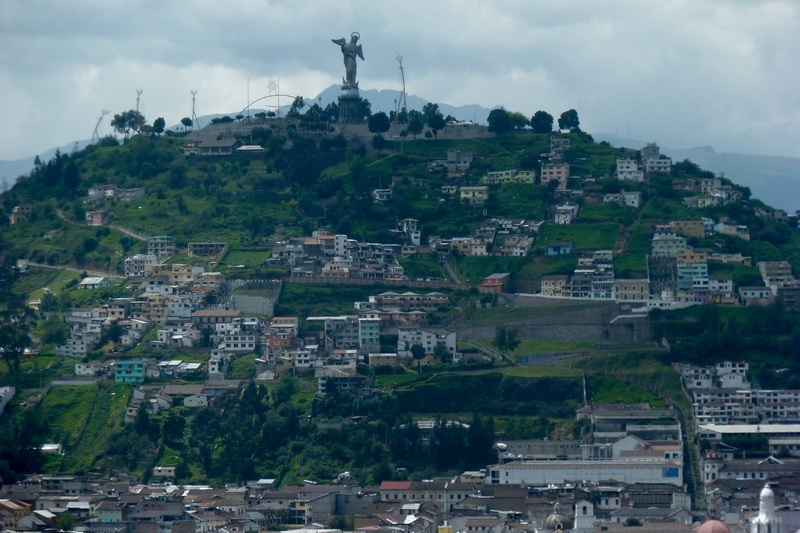 Lady of Quito from a distance