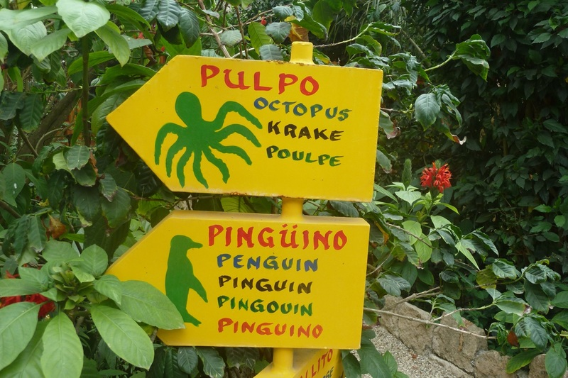 Signage to our bungalow
