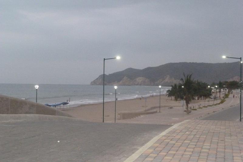 Dusk at Puerto Lopez