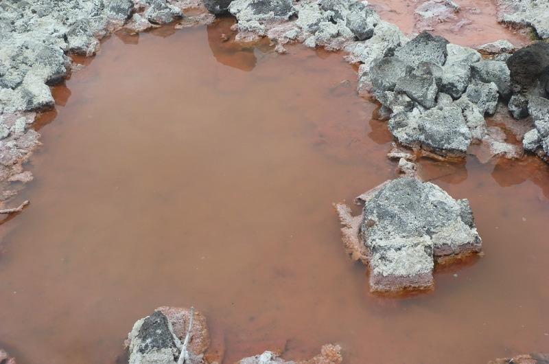 Salt Mine - notice its pinkish colour