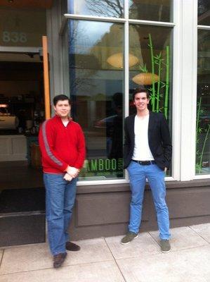 At Bamboo Sushi