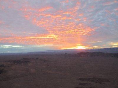 Sonnenuntergang im Canyonland