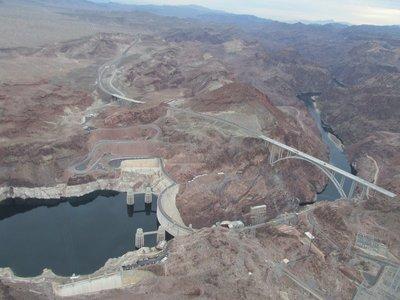 Hoover Dam mit Bypass
