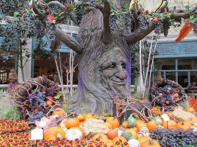 Hotel Belagio geschmückt für Thanksgiving Day
