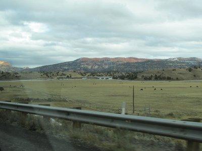 Auf dem Weg zum Bryce Canyon