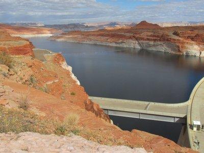 Glen Canyon Dam und Lake Powell