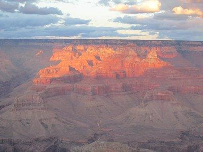 Feuergefangen, Grand Canyon