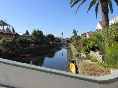 Kanäle durch Venice