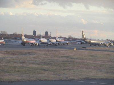 Auf dem Rollfeld, Flughafen JFK New York