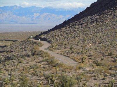Route 66 zwischen Cool Springs und Oatman