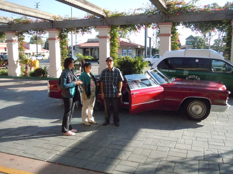 Mit dem Cadillac durch Los Angeles