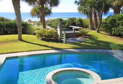 Pool of House 1