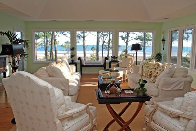 Living Room w/ Ocean View