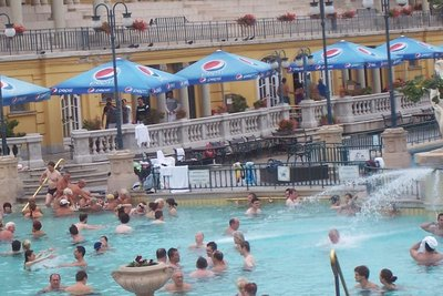 Bath in Budapest