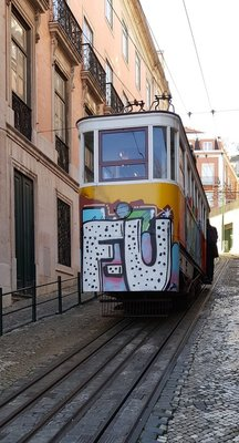 Funicular Tram Lisbon
