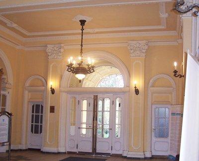 foyer of spa, Budapest