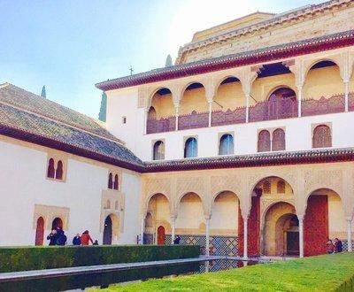 Nazrid Palace Alahambra Spain