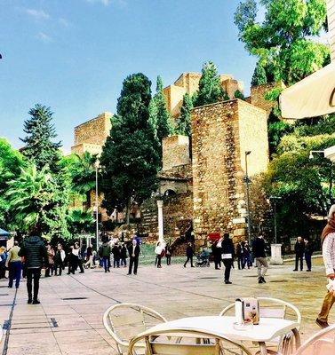 Old Town Malaga Alcazar