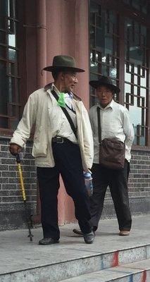 In Tibetan Quarter of Chengdu China