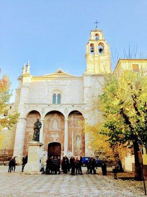 Church in Granada - former SANTA Cruz Monastary from Sixteenth Century