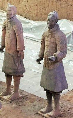 Terra Cotta Warriors Xi'an China