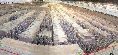 Terra Cotta Warriors Xi'an China Pit One