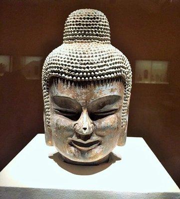 Famed Buddha in Beijing Museum