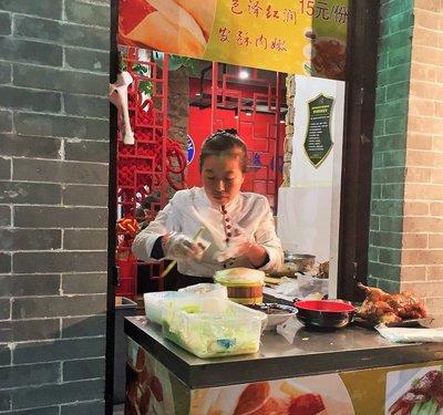 Even Peking Duck Can Be Street Food in Beijing