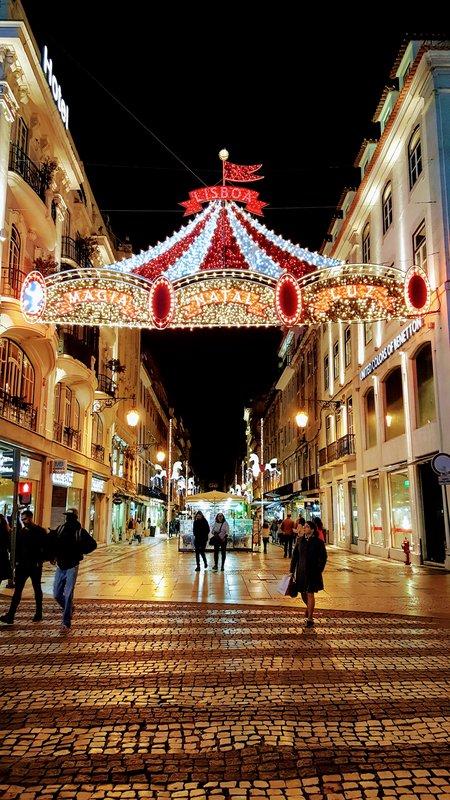 Lisbon in December
