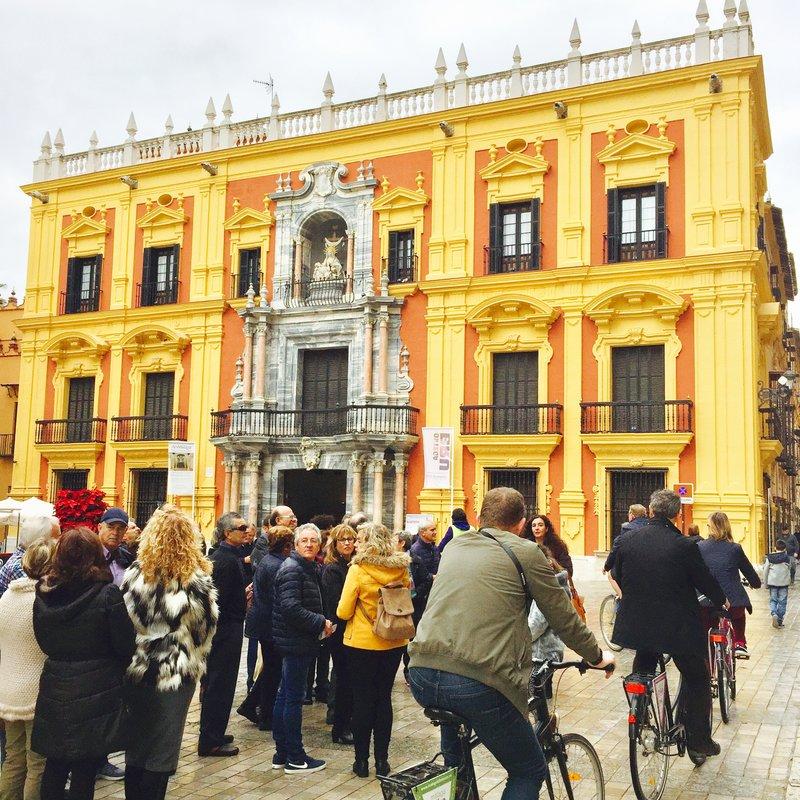 Old Town Malaga Low Season