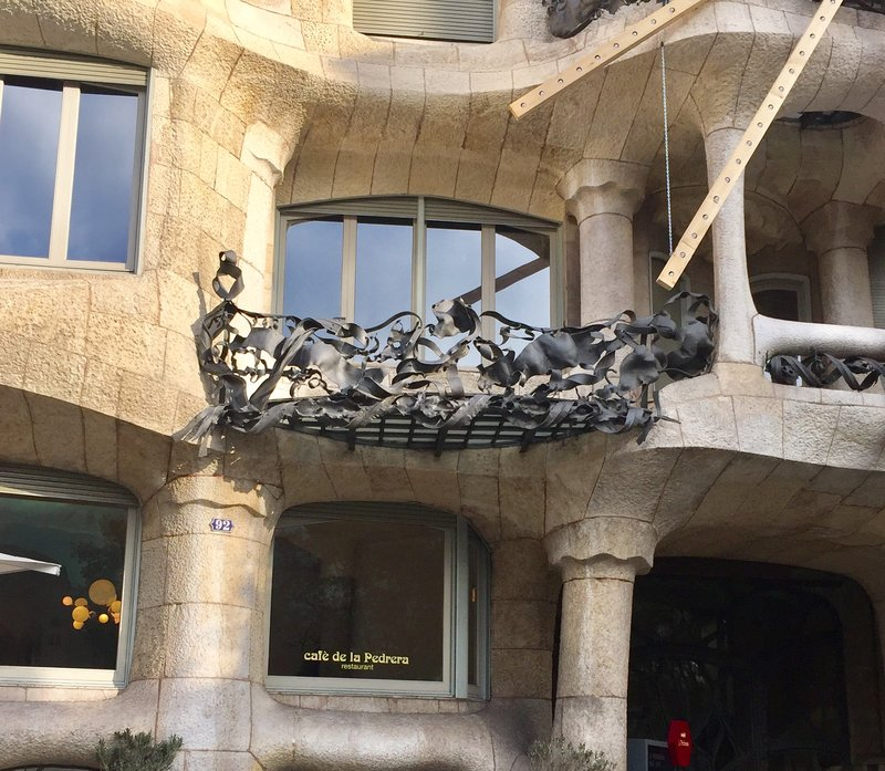 Gaudi Barcelona - Detail, la Pedrera