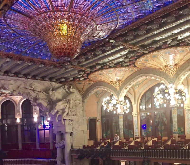 Palau de MusicaBarcelona