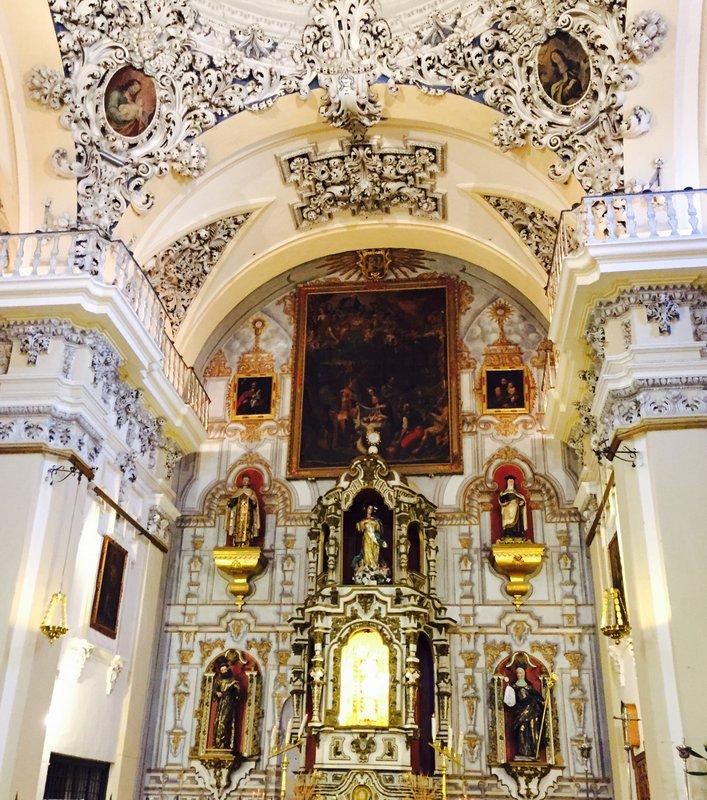 Antequara Spain Embellished Church
