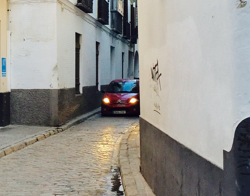 Narrow Street in Seville