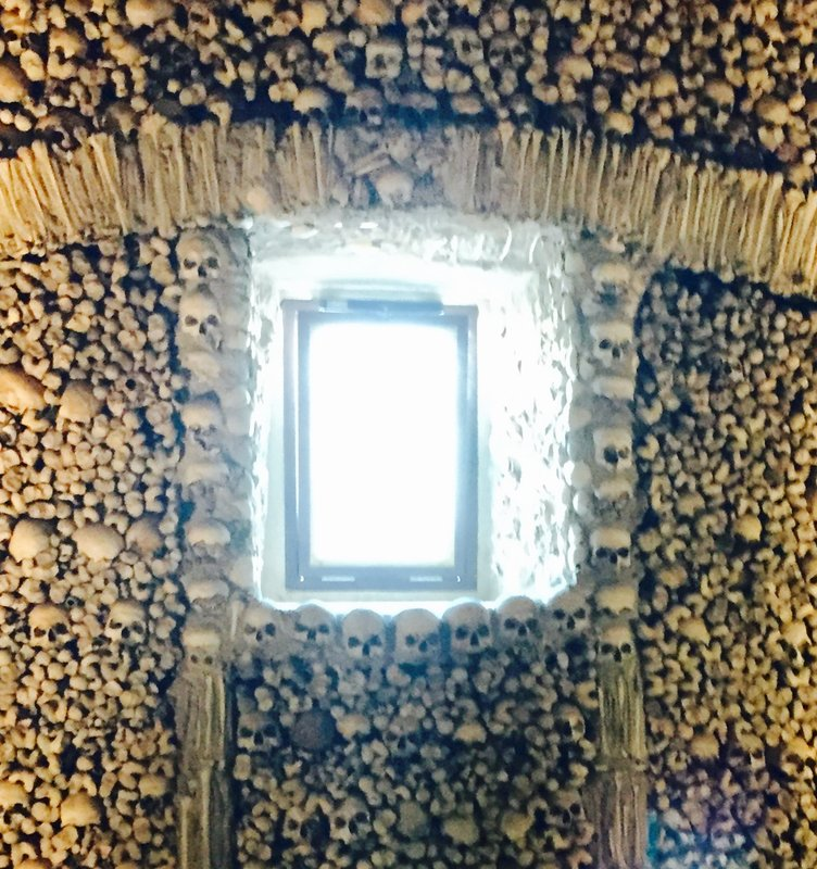 Chapel of Bones Evora Portugal