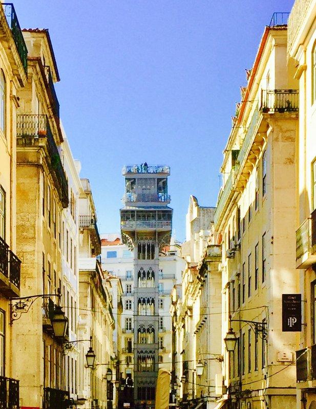 Justa Elevator Lisbon Portugal 🇵🇹