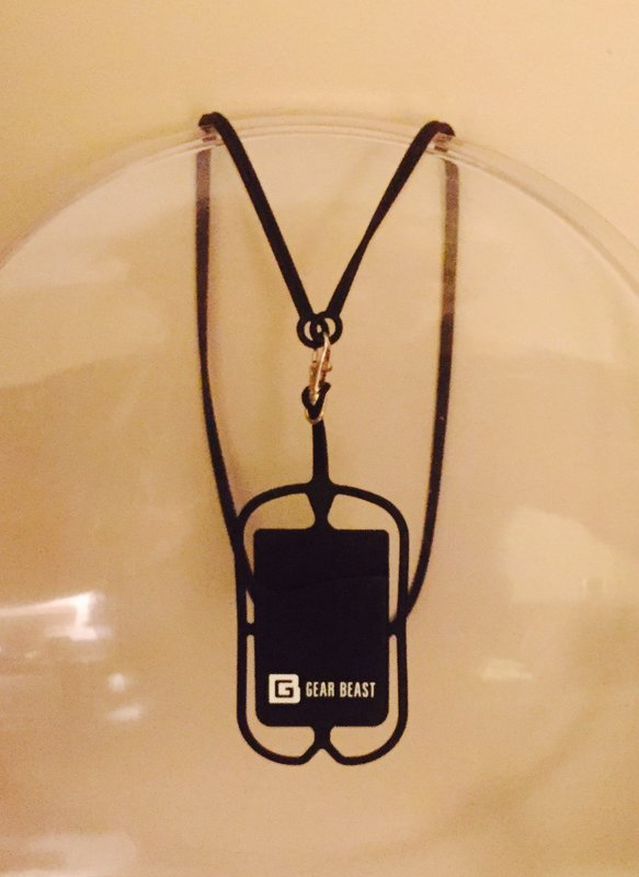 Cell phone bungee cord - handy gadget